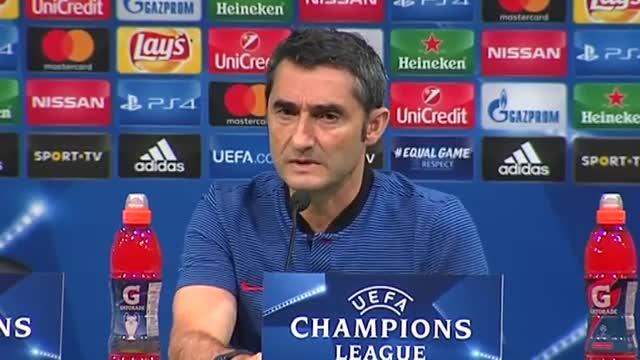 Valverde: Es un equipo muy fuerte