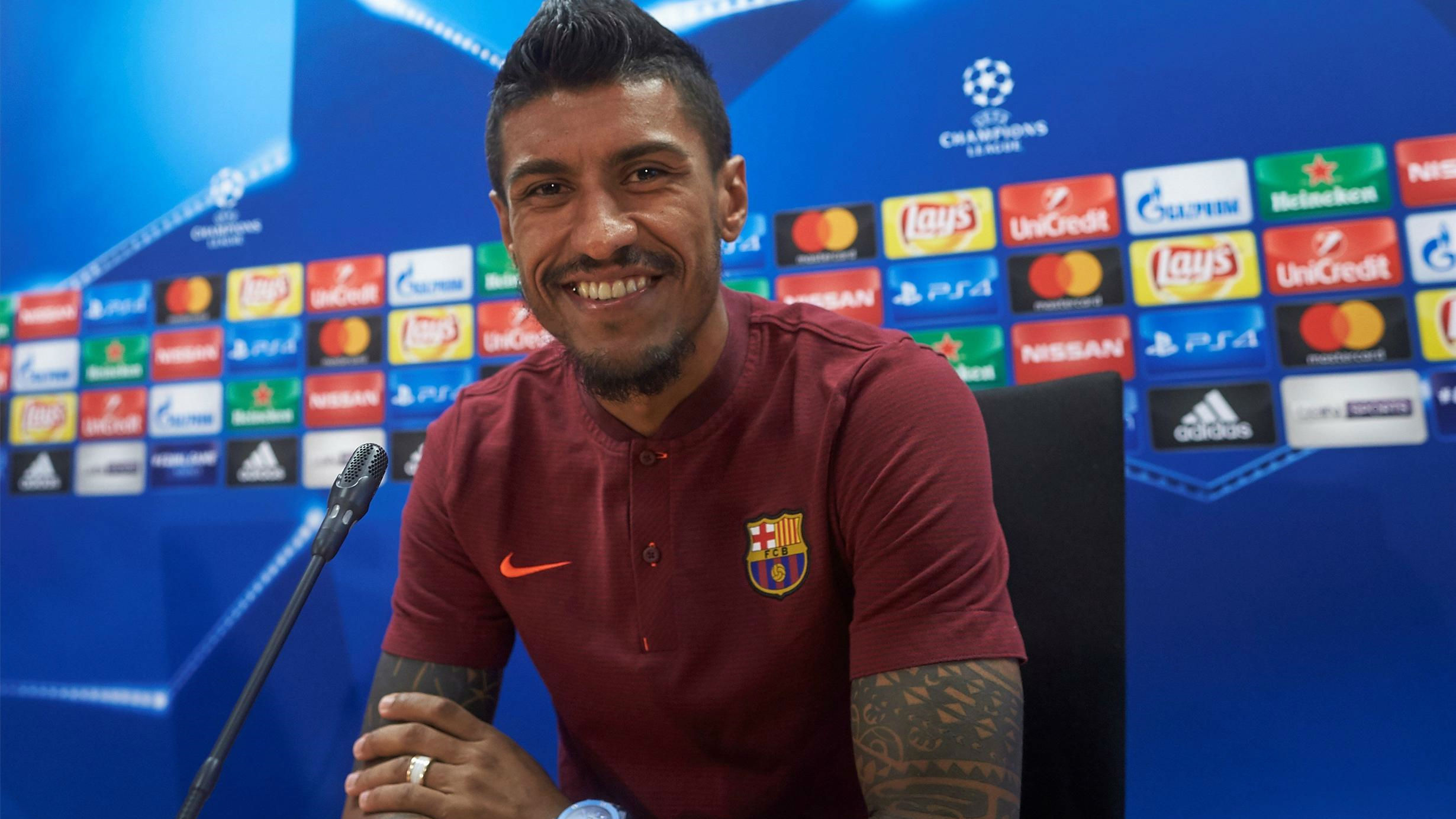 Paulinho I m here to help Messi keep being the best player in the wor