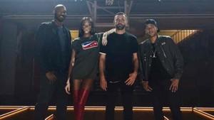 Kobe Bryant, junto a Neymar, Harlow y Tisci