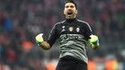 Buffon mostr� sus preferencias por el triunfo del Atl�tico