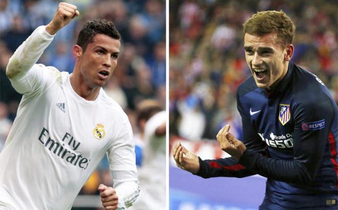 Cristiano y Griezmann, los dos futbolistas claves del partido