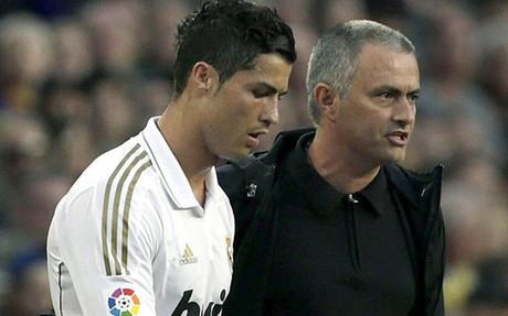 Cristiano y Mourinho no acabaron en sinton�a al final de la etapa del t�cnico portugu�s