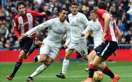 Cristiano Ronaldo firm� dos de los cuatro goles del Real Madrid