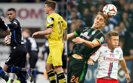 El Dortmund y el Werder Bremen se hunden en el pozo