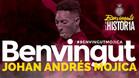 El Girona anunció la nueva cesión de Johan Mojica hasta fin de temporada