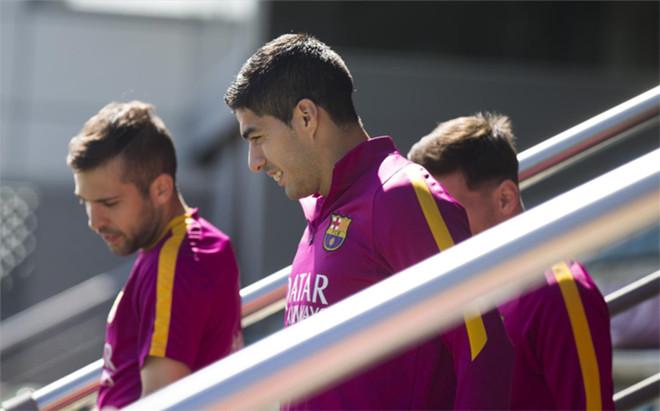 Los entrenamientos del Barcelona son divertidos