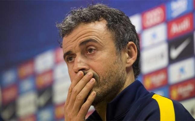 Sigue la rueda de prensa de Luis Enrique previa al FC Barcelona - Granada