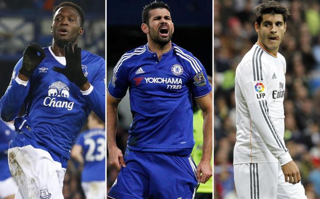 Lukaku y Morata despiertan inter�s en Stamford Bridge