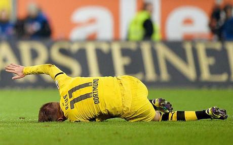 Marco Reus dice adiós al 2014