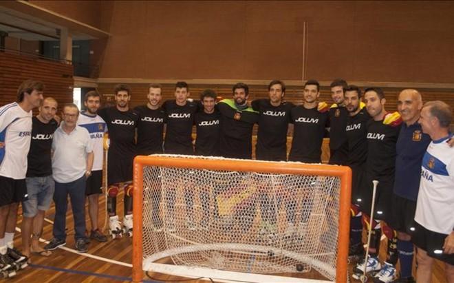 La selecci�n espa�ola de hockey patines tiene como objetivo recuperar el cetro europeo