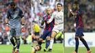 Sólo aprueban tres jugadores del Barça
