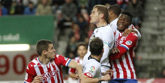 Sporting, 1 - Deportivo, 1