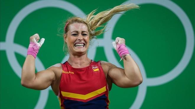 Lidia Valentin lidera la selección de halterofilia para el Europeo