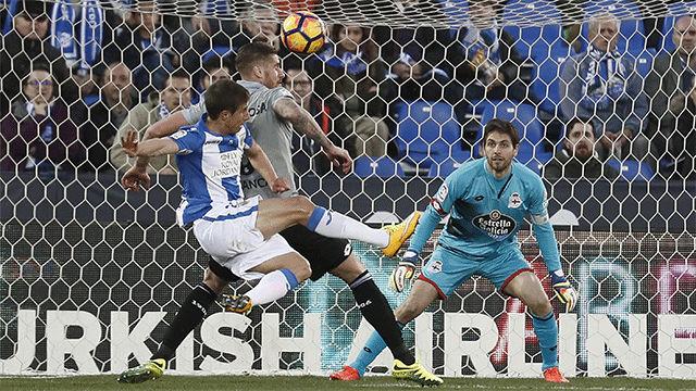 Gaizka Garitano y el Deportivo, al borde del abismo