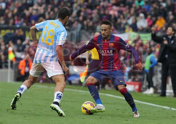 صور : مباراة برشلونة - ملقا  0-1 ( 21-02-2015 )  1424541222019