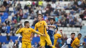 Dani Romera y Marc Cardona, los pichichis del equipo, buscarán el gol que no encontraron en Sabadell