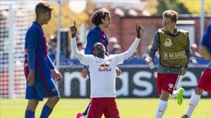 El Barça no pudo con el Salzburgo