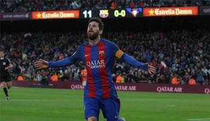 Messi está a una jornada de la Bota de Oro 2017