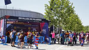La Fan Zone del Barça con motivo de la final de la Copa del Rey 2015/16 contra el Sevilla