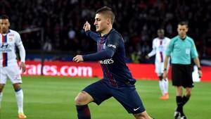Verratti debe actuar en caso de querer jugar en el Camp Nou