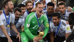 Ter Stegen ayudó con sus paradas a que Alemania ganara la Copa Confederaciones