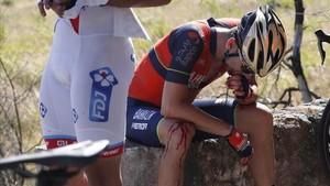 El jienense tuvo muy mala suerte en la pasada Vuelta