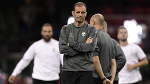 Allegri prepara muchos cambios para recibir al Barça