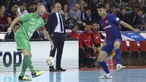 Andreu Plaza no acabó satisfecho tras el empate ante Xota (3-3)