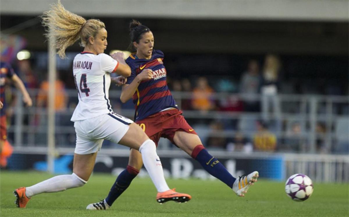 El Bar�a femenino ya ha probado el escenario del duelo de Champions ante el PSG