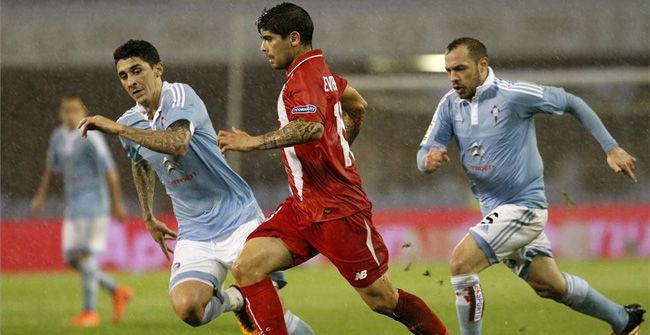 Celta, 2 - Sevilla, 2