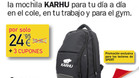 Consigue la mochila Karhu con SPORT