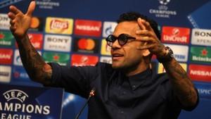 Dani Alves no es recordado con mucho cariño en Italia