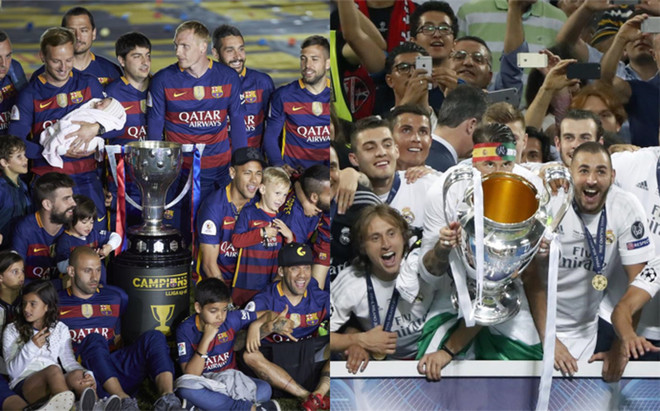 El doblete del Barcelona contra la Champions del Madrid