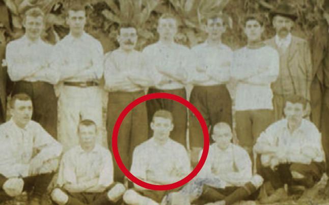 George Girvan, el alcalde escoc�s que marc� el primer gol oficial del Bar�a