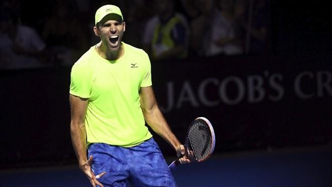 Ivo Karlovic cierra la jornada con el récord de aces en el Open de Australia