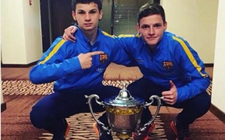 El cadete A del Barça, campeón en Abu Dhabi