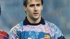 Lopetegui, durante su etapa en el FC Barcelona