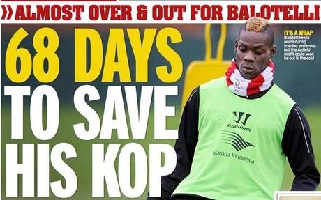 Mario Balotelli parece tener los d�as contados en el Liverpool