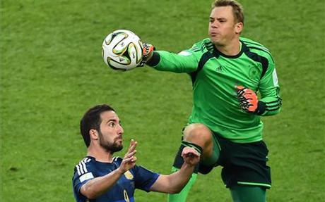 Neuer fue una de las estrellas del Mundial de Brasil