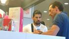 Nolito y Óscar Arias charlaron en una heladería
