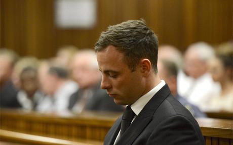 �scar Pistorius, antes de ser condenado a 5 a�os de prisi�n