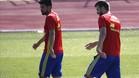 Piqu� y Sergi Roberto ya se entrenan con Lopetegui