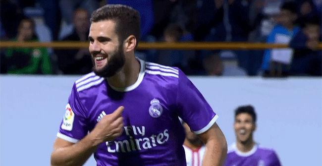 Vea el golazo de Nacho en el Cultural Leonesa - Real Madrid. Copa del Rey 16/17