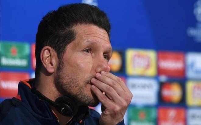 Simeone dijo que no ir� a por el empate, sino a ganar