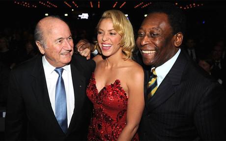 Shakira en la FIFA