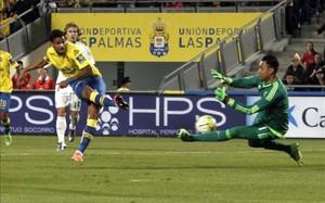 Keylor Navas volvió a ser decisivo ante el Las Palmas