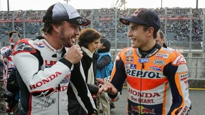 Alonso y Márquez, en Motegi