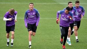 Modric y CR7, dos de los ilustres ausentes ante para el partido de mañana