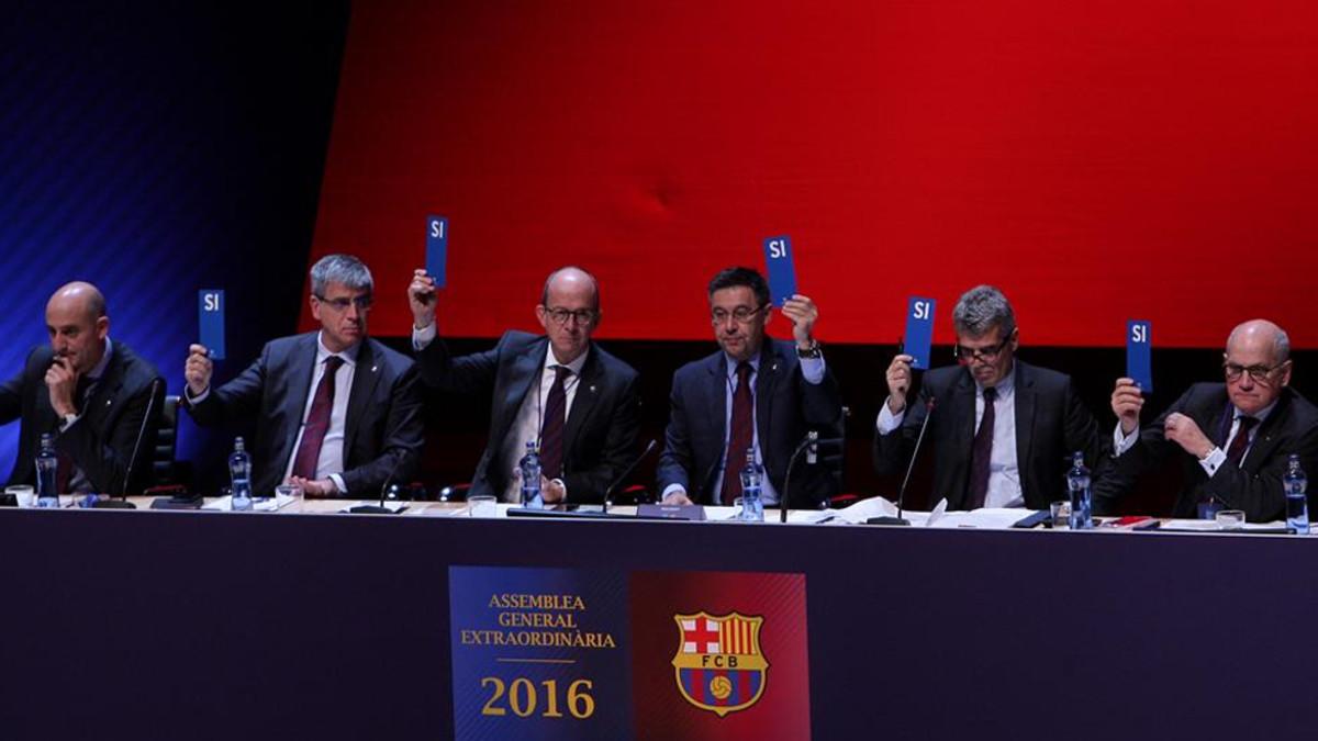 La asamblea del Barcelona aprobó los acuerdos con Rakuten y con Mission Hills Group