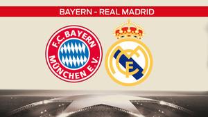 Bayern - Real Madrid en cuartos de Champions